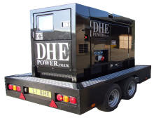 LONDON EVENT GENERATOR HIRE
